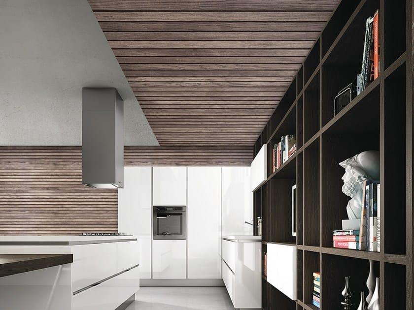 Wood effect vinyl wallpaper DOGATO by Adriani e Rossi edizioni