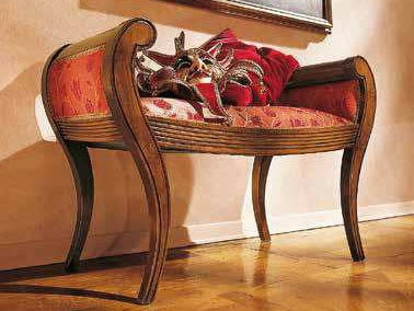 Upholstered fabric bench DOGI | Bench by Arvestyle
