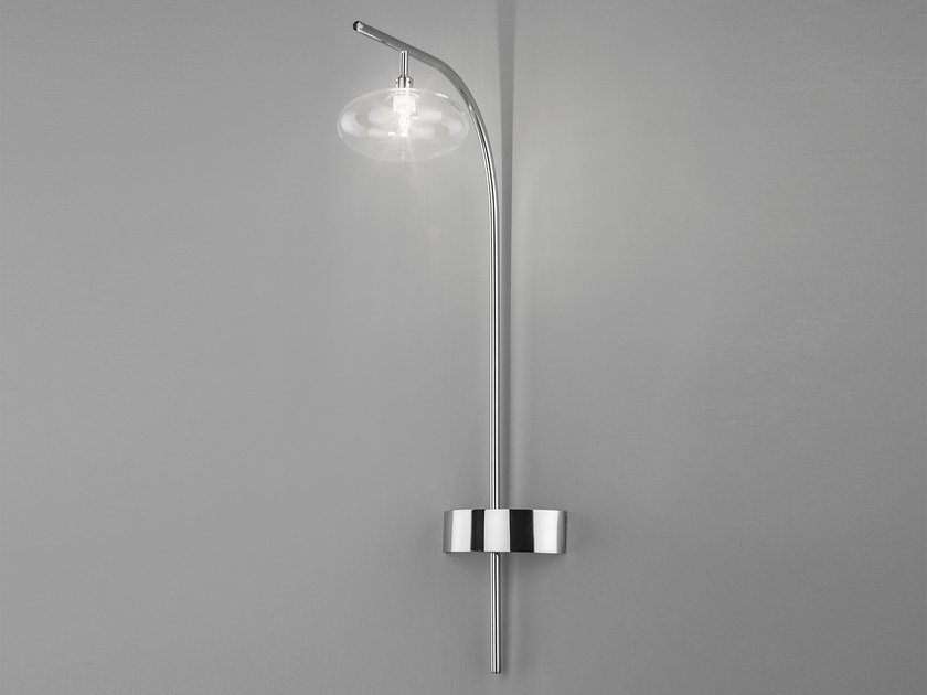 Glass wall lamp DOLCE H 60/ H 120 by Metal Lux