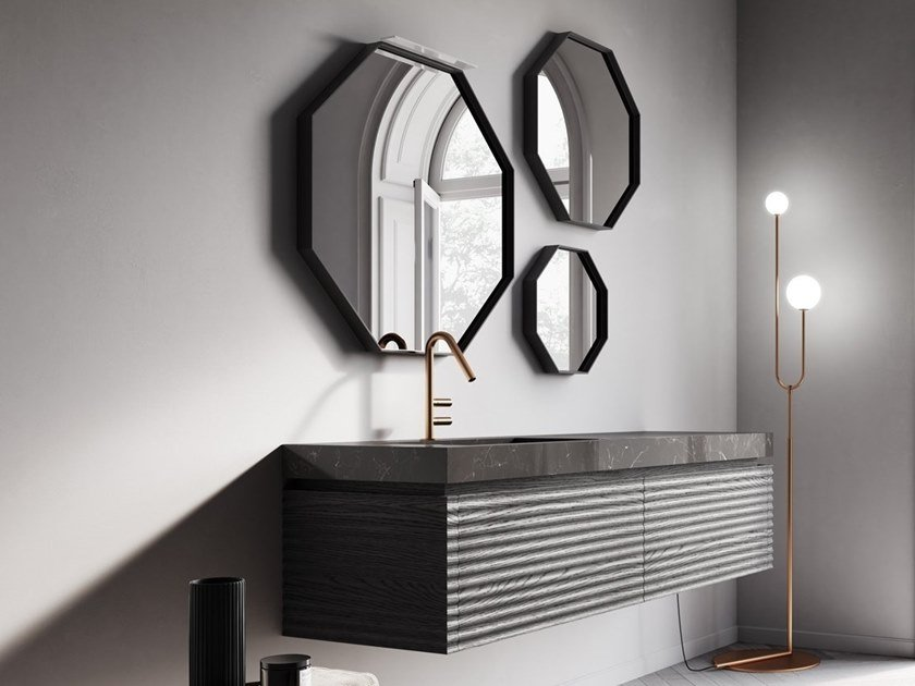 Bathroom furniture set DOLCEVITA BY AQUA COMP. 05 by Idea