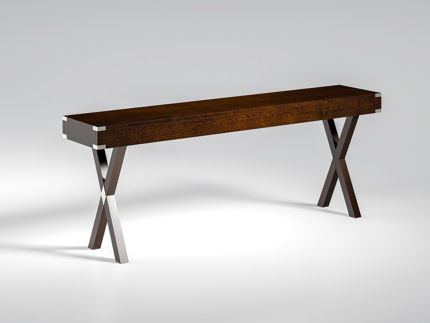 Rectangular solid wood console table DOLCEVITA | Console table by Caroti