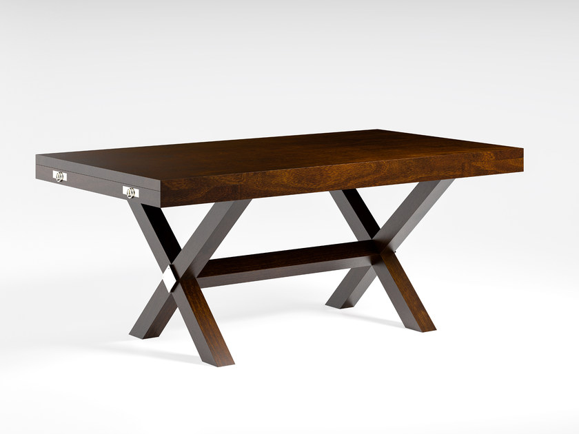 Extending solid wood dining table DOLCEVITA | Dining table by Caroti