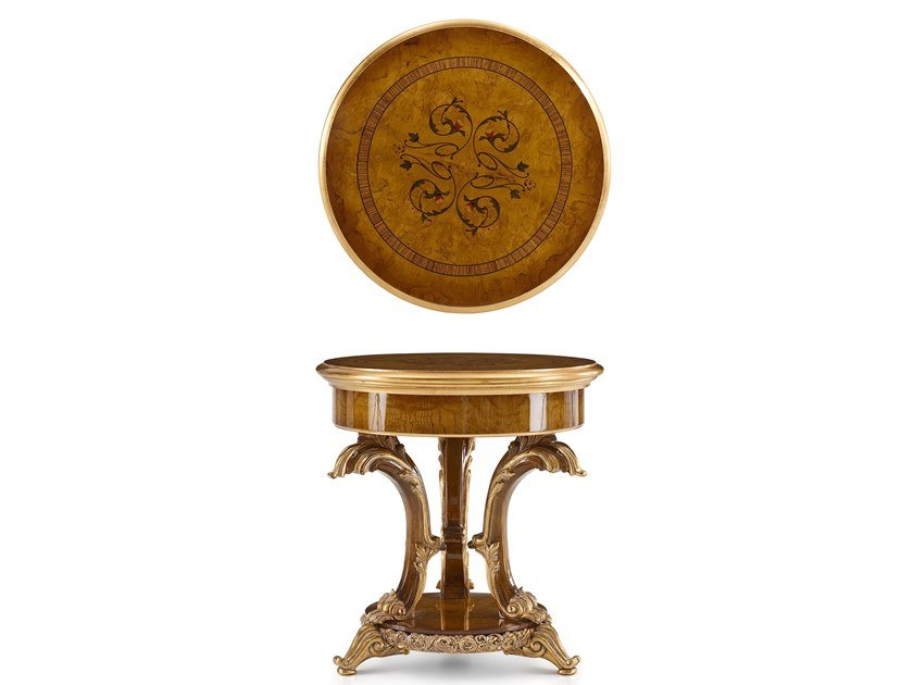 Round coffee table DOLCEVITA | Round coffee table by A.R. Arredamenti