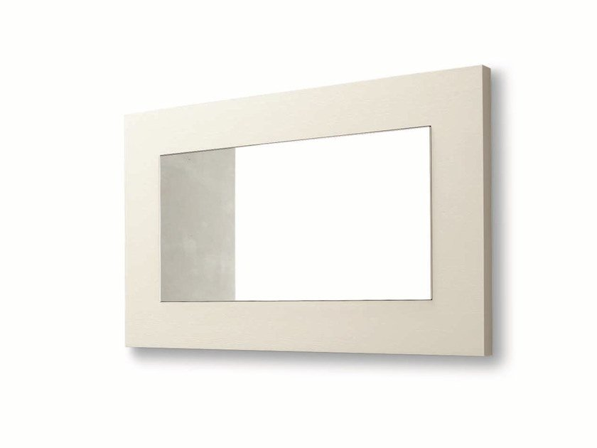 Rectangular wall-mounted framed mirror DOLCEVITA by Gruppo Tomasella