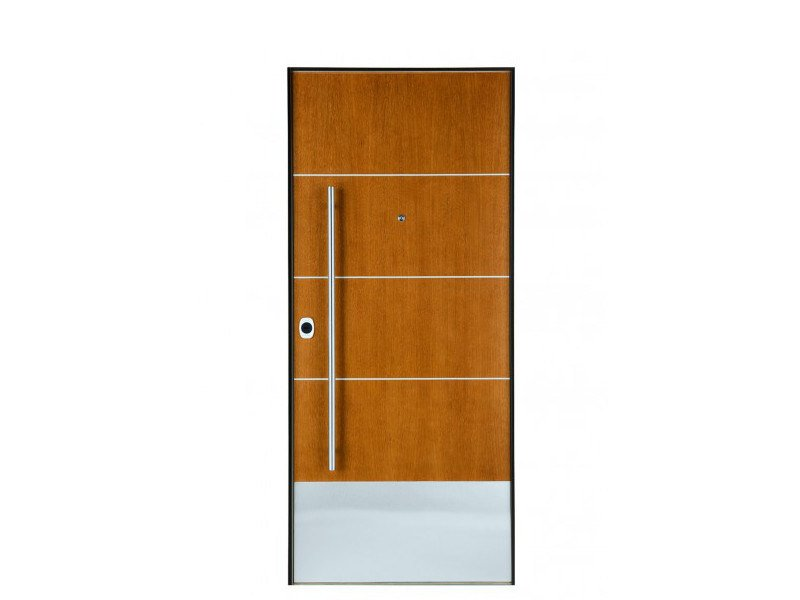 Door panel for outdoor use DOLOMIA TOFANE by Metalnova