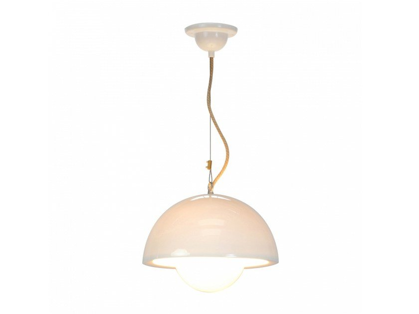 Porcelain pendant lamp with dimmer DOMA LARGE by Original BTC