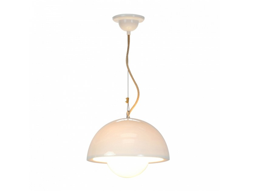 Doma Lampada In Btc A Con Sospensione Porcellana Dimmer Large Original PTOiukXwZ