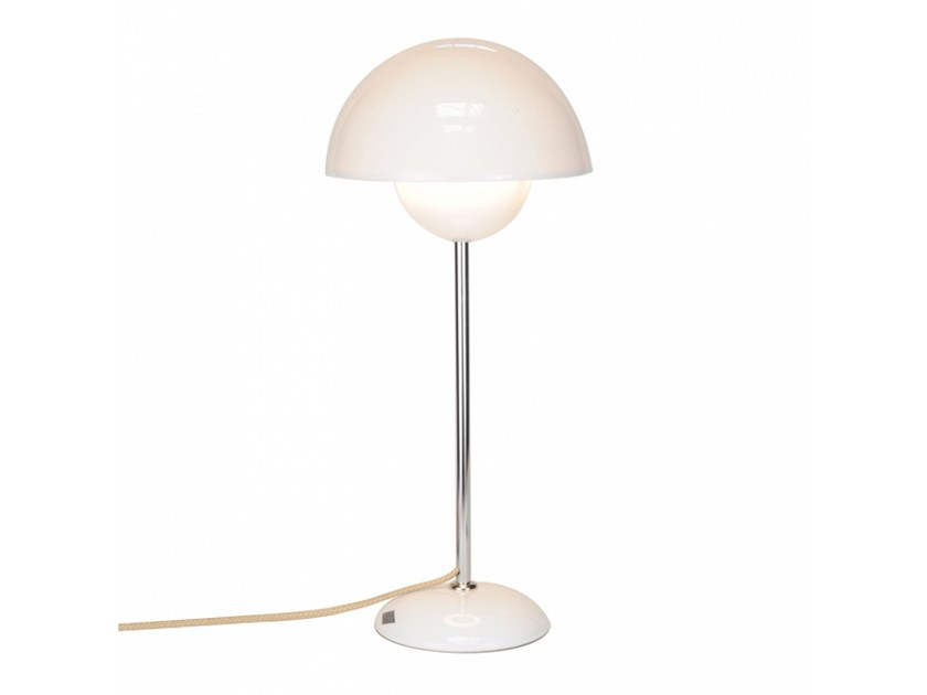 Porcelain table lamp with fixed arm with dimmer DOMA | Table lamp by Original BTC
