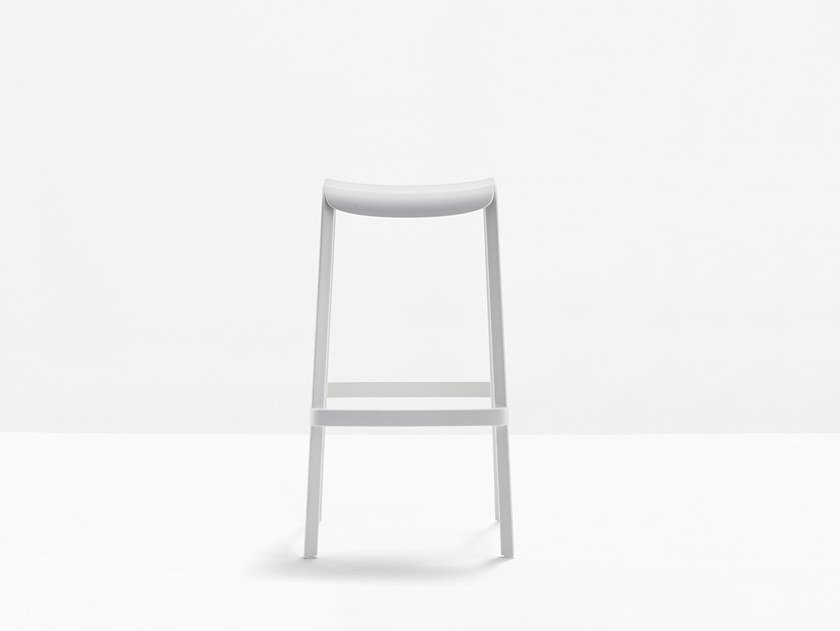 Stackable polypropylene stool DOME 268 by PEDRALI