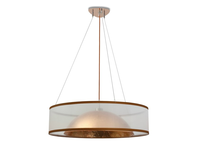 Copper pendant lamp DOME 6500 COPPER by Hind Rabii