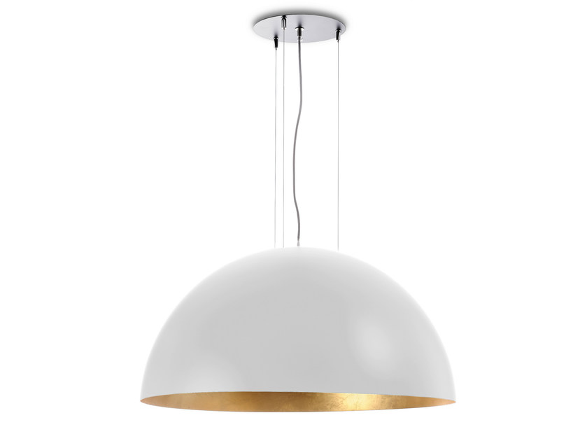 Metal pendant lamp DOME 800 WG by Hind Rabii