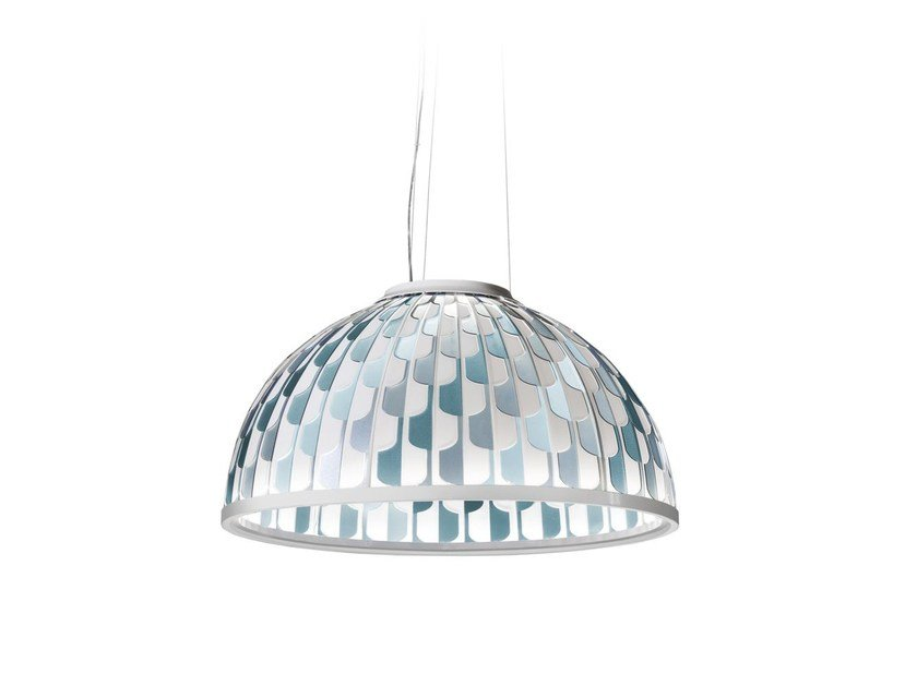 LED Cristalflex® pendant lamp DOME by Slamp