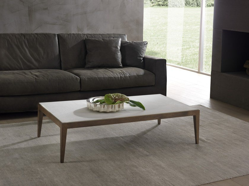 Low Cimento® coffee table DOMINIQUE | Cimento® coffee table by Pacini & Cappellini