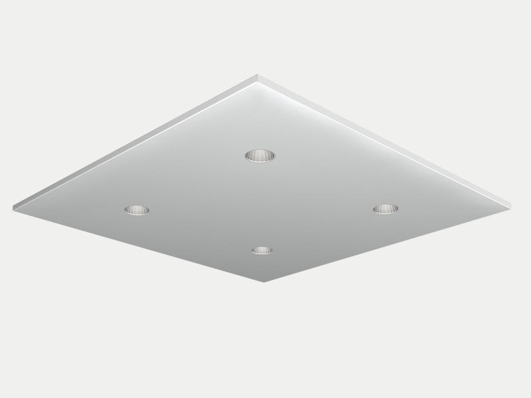 Recessed ceiling lamp DOMINO DICE by ES-SYSTEM