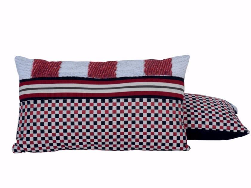 Rectangular sofa cushion DOMINO by LELIEVRE