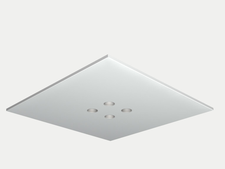 Recessed ceiling lamp DOMINO OFFICE by ES-SYSTEM