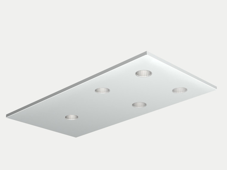 Recessed ceiling lamp DOMINO by ES-SYSTEM