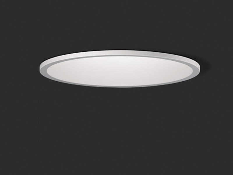 Metal ceiling lamp DOMO | Recessed ceiling lamp by Vibia