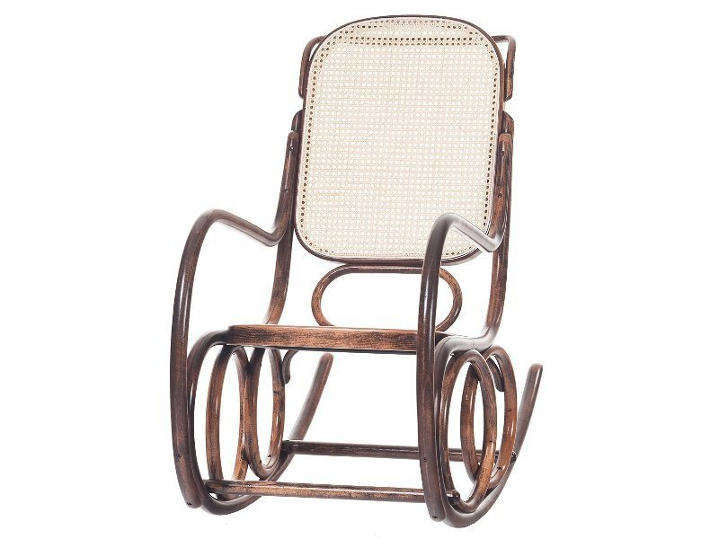 Rocking mesh chair DONDOLO | Rocking chair by TON