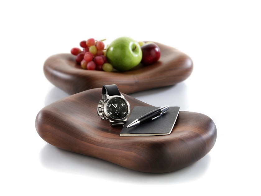 Wooden centerpiece / pin tray DONNA | Wooden pin tray by Zieher