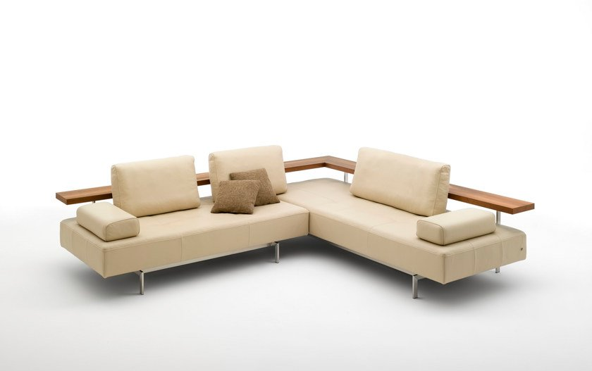 Corner Leather Sofa Dono Corner Sofa By Rolf Benz Design Christian