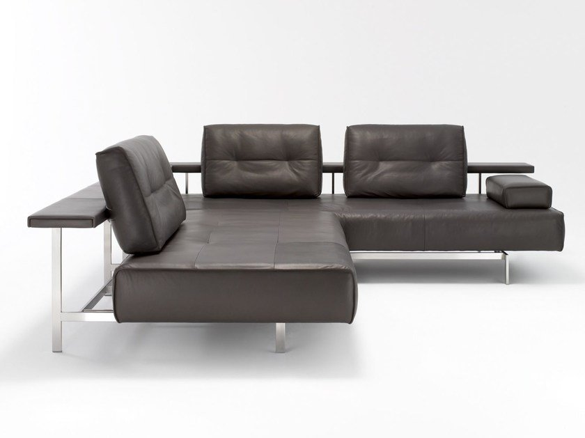 Corner Leather Sofa Dono By Rolf Benz