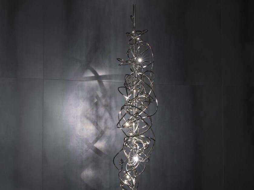 LED metal floor lamp DOODLE | Floor lamp by TERZANI