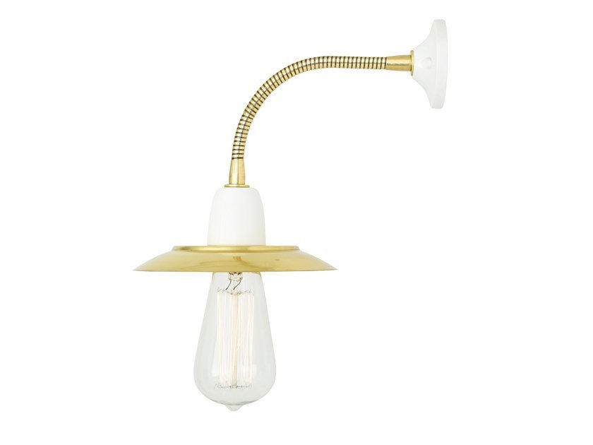Adjustable brass wall lamp DOON | Wall lamp by Mullan Lighting