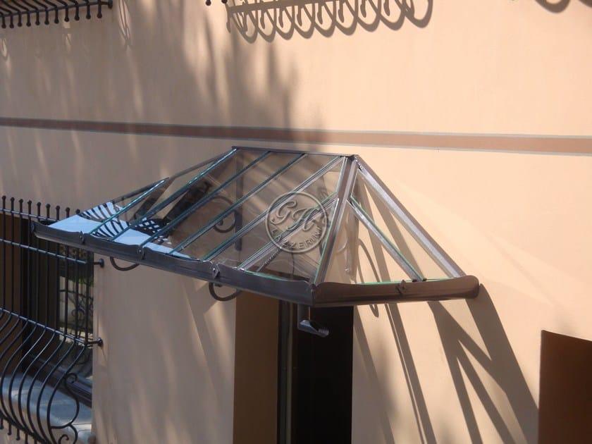 Iron door canopy Door canopy 12 By GH LAZZERINI