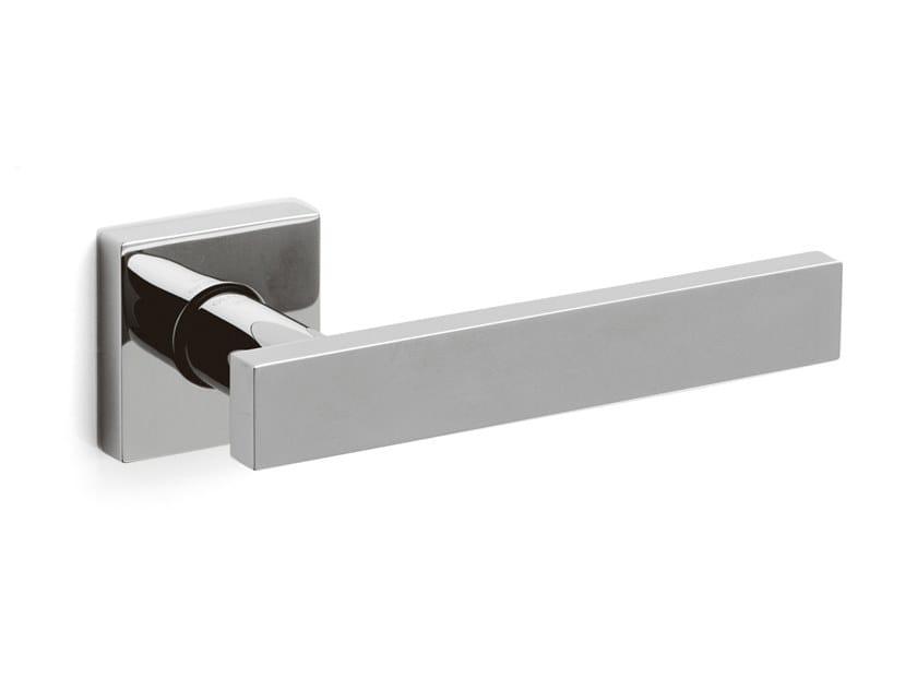Brass door handle BLADE | Door handle by OLIVARI
