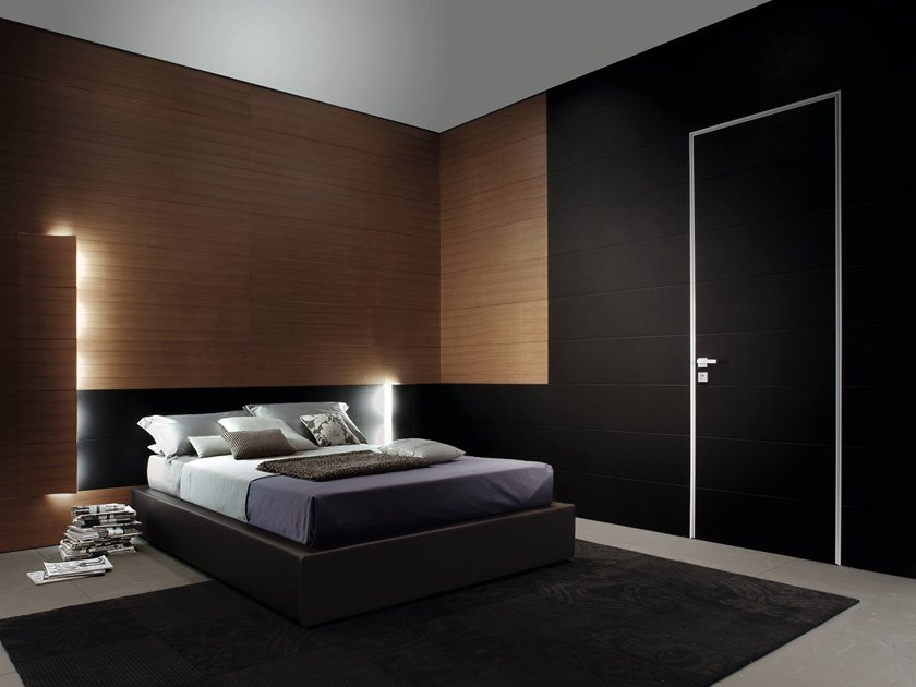 Hinged wooden door SWS | Door by OIKOS VENEZIA