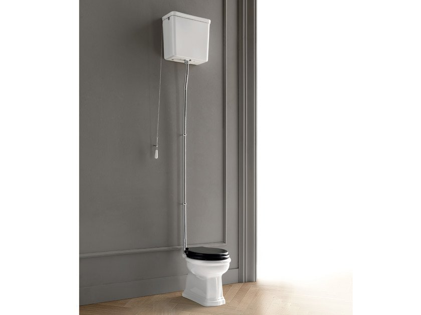 Ceramic toilet with external cistern DOROTHY | Toilet with external cistern by BATH&BATH