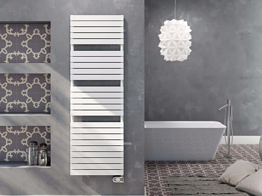 Electric wall-mounted carbon steel towel warmer DORY | Electric towel warmer by CORDIVARI
