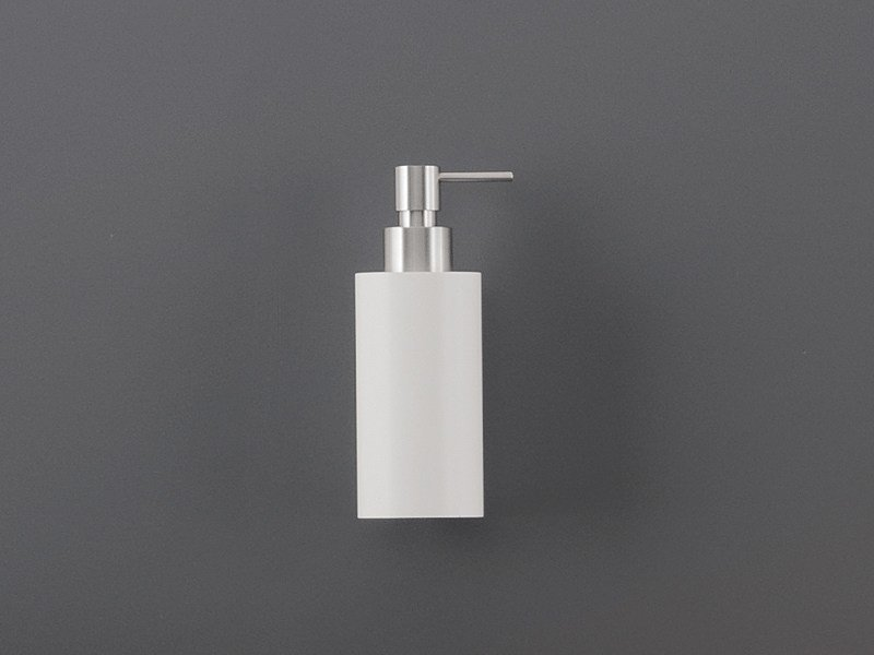 Wall mounted Delrin® soap dispenser DOS 03 by Ceadesign