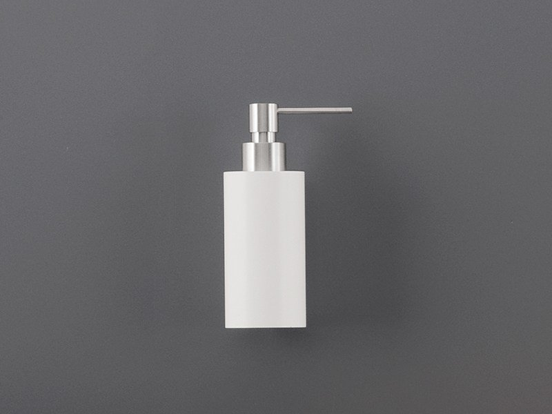 Wall mounted Delrin® soap dispenser DOS 06 by Ceadesign