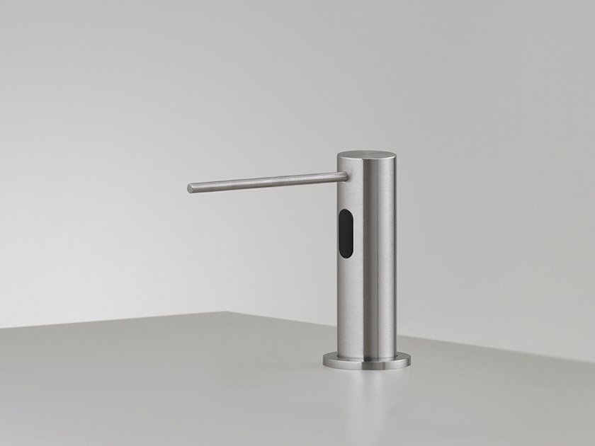Deck mounted built-in dispenser with presence sensor DOS 08 by Ceadesign