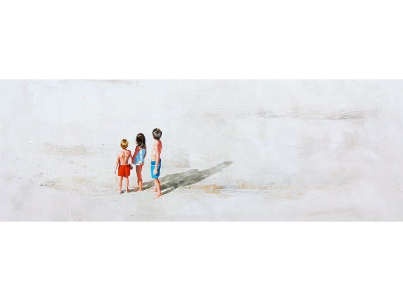 Canvas Painting Dos hermanos y hermana by NOVOCUADRO ART COMPANY