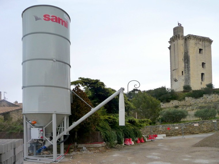 Dosage system dosing  vertical silo SILMATIC by SAMI