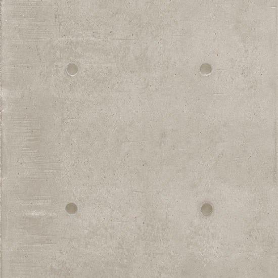Porcelain stoneware wall/floor tiles with concrete effect DOT DECO GRIGIO CHIARO by Ceramica Fioranese
