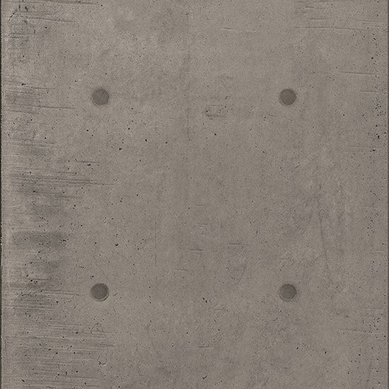 Porcelain stoneware wall/floor tiles with concrete effect DOT DECO GRIGIO SCURO by Ceramica Fioranese