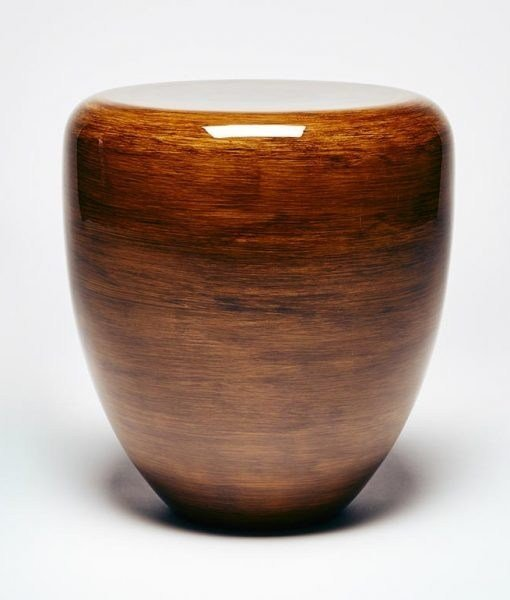 Lacquered wooden side table DOT | Coffee table by REDA AMALOU DESIGN