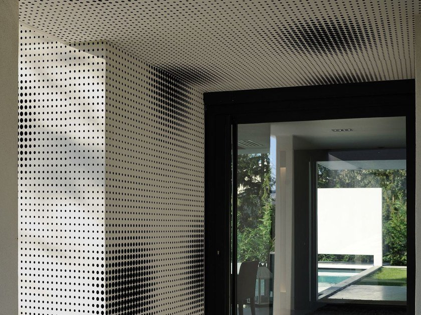 Motif outdoor wallpaper DOT DOT by Wall&decò