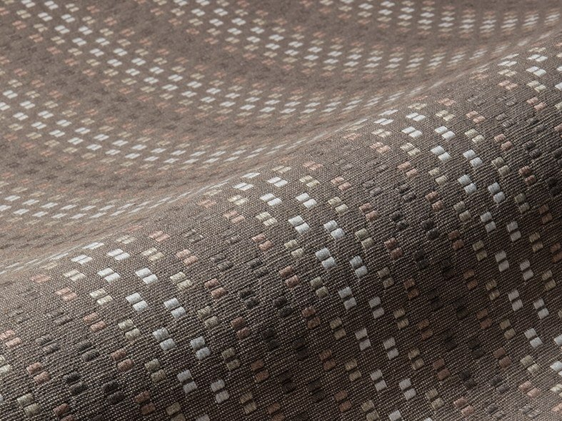 Upholstery fabric with graphic pattern DOTS by Aldeco