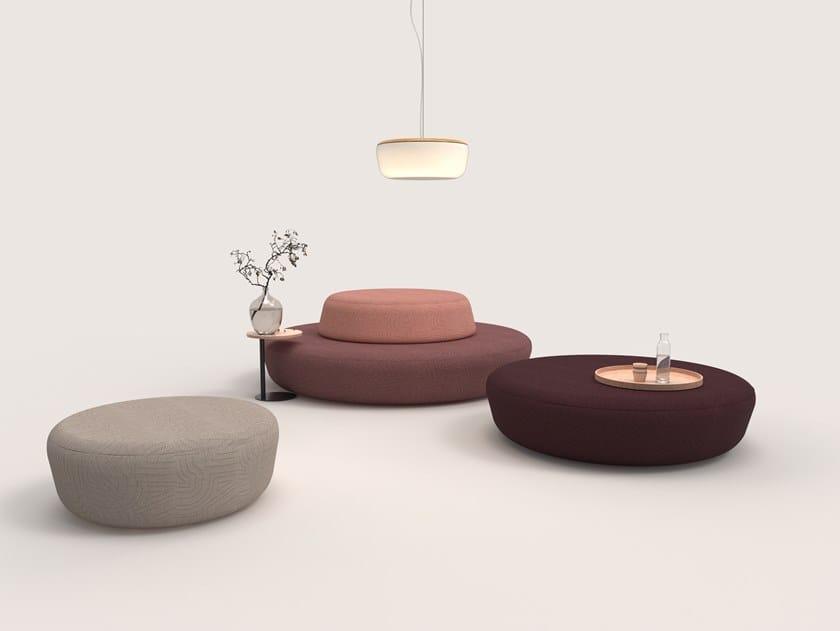 Modular fabric sofa DOTS SOFT SOFA by Addon Furniture
