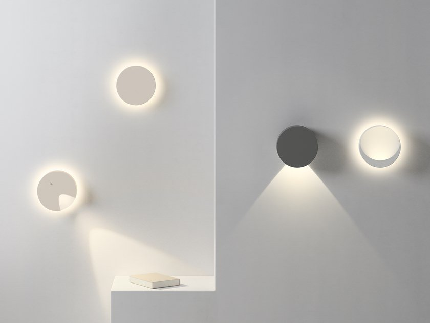 Applique a LED in policarbonato DOTS by Vibia