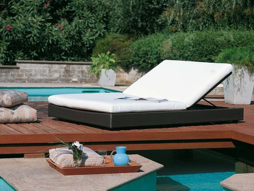 Double garden daybed SUNLACE | Double garden daybed by Unopiù