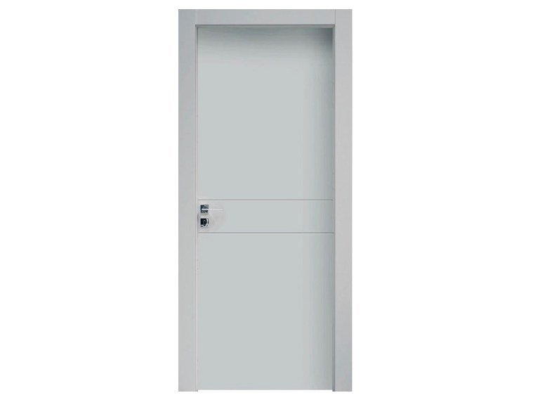 Hinged lacquered wooden door DOUBLE by NUSCO