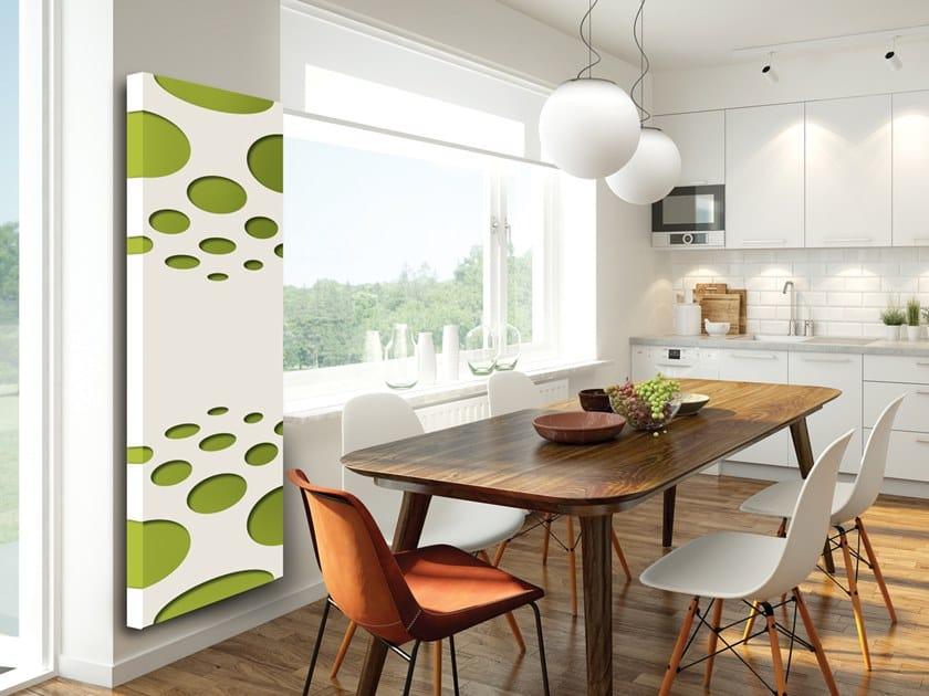 Vertical wall-mounted aluminium panel radiator DOUBLE PLATE - DP 00502 by Termoarredo Design