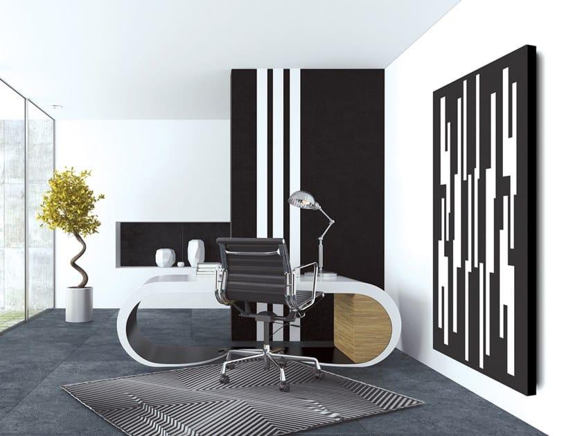 Vertical wall-mounted aluminium panel radiator DOUBLE PLATE - DP 00508 by Termoarredo Design