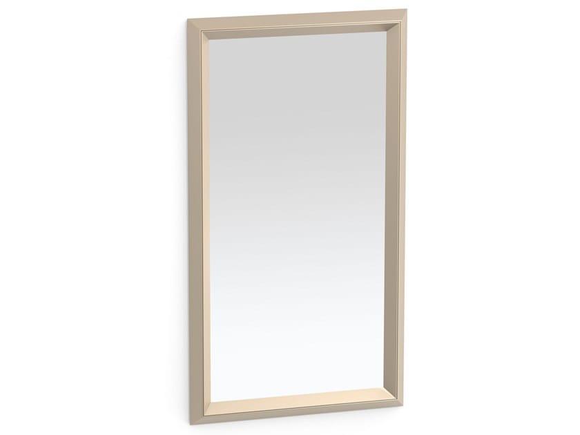 Framed rectangular metal mirror DOUBLE   Rectangular mirror by ALBEDO
